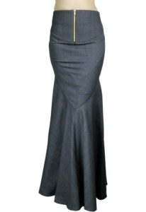 Long Fishtail Skirt