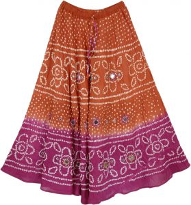Long Mexican Skirt