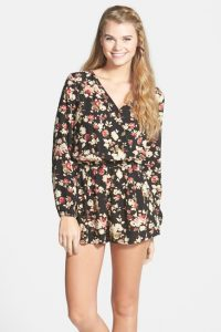 Long Sleeve Rompers for Juniors