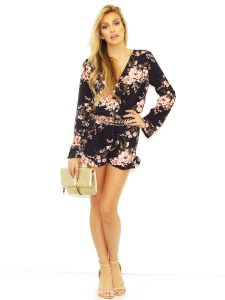 Long Sleeve Rompers for Women