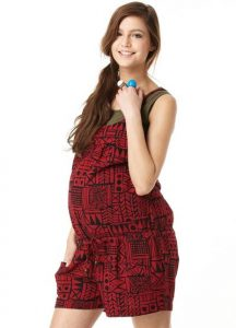 Maternity Romper Pictures