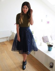Mesh Skirt Outfit