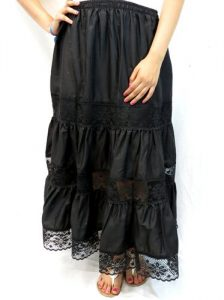 Mexican Black Skirt