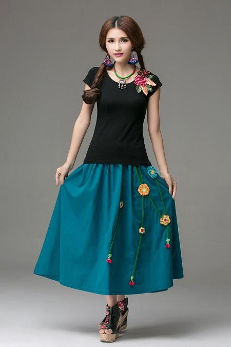Mexican Skirt | DressedUpGirl.com