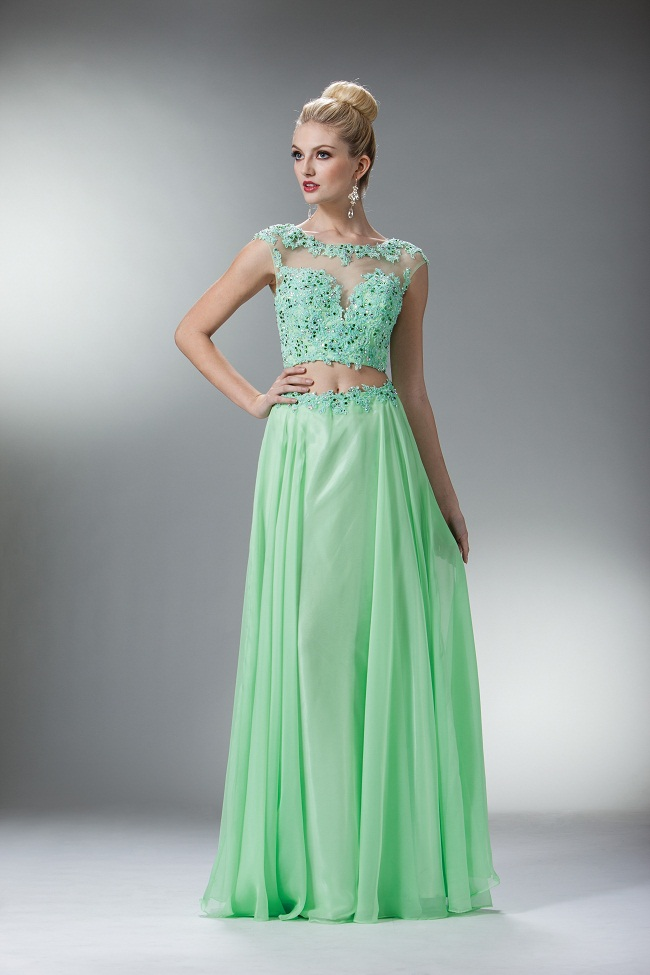 Mint Gown | Dressed Up Girl