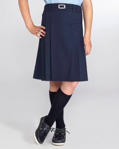 Navy Uniform Skirt