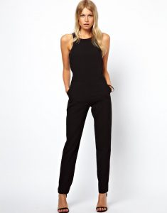 One Piece Black Jumpsuit