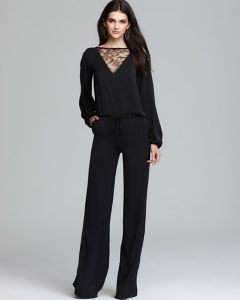 One Piece Long Sleeve Jumpsuit