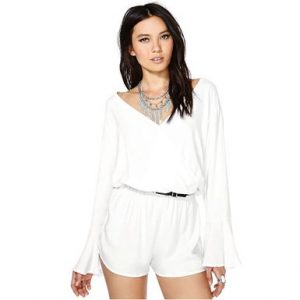 One Piece Shorts Jumpsuit