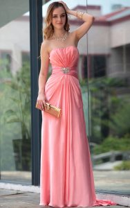 Peach Bridal Gowns