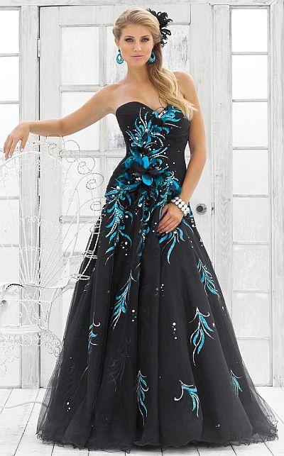 Peacock Gown | DressedUpGirl.com