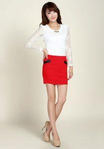 Short Pencil Skirt | Dressed Up Girl