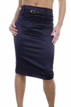 Navy blue pencil skirt stretch – Modern skirts blog for you