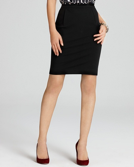 Short Pencil Skirt | Dressed Up Girl