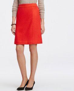 Petite Wool Skirts