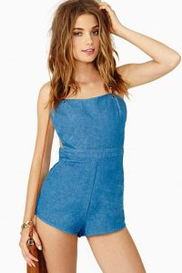 Pictures of Chambray Romper