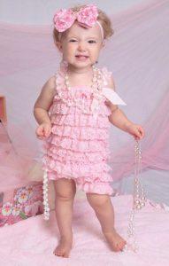Pink Baby Romper