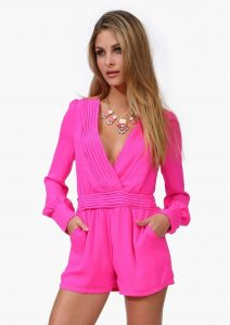 Pink Romper for Women
