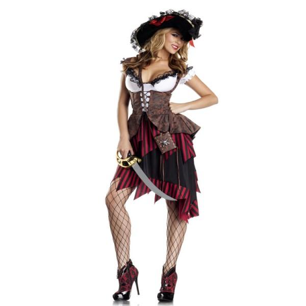 Pirate Costume Skirt  sc 1 th 225 & Pirate Skirt | Dressed Up Girl