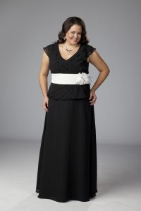 Plus Size Formal Skirt