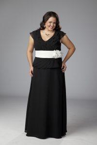 Plus Size Formal Skirt