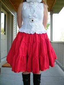 Plus Size Petticoat Skirt