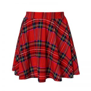 Plus Size Uniform Skirts