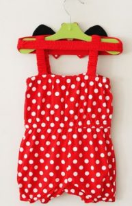 Red Baby Romper