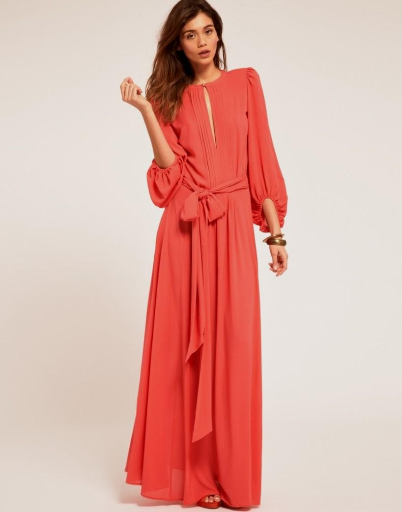 Maxi Dresses With Long Sleeves | Cocktail Dresses 2016