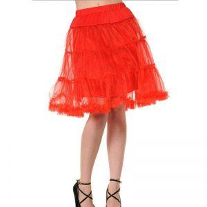Red Petticoat Skirt