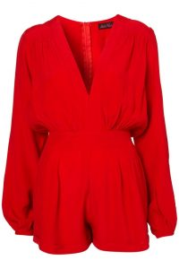 Red Romper for Women