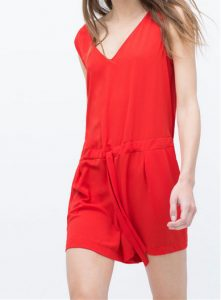 Red Rompers for Women