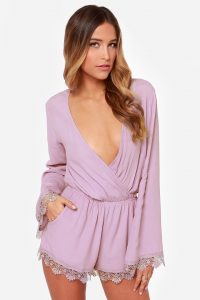 Romper with Long Sleeves