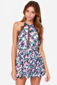 Rompers Floral