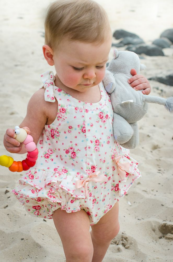 Baby Girl Rompers Dressed