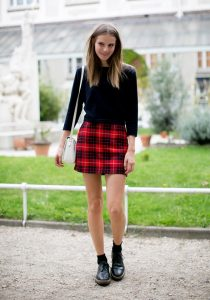 Schoolgirl Skirt Outfit