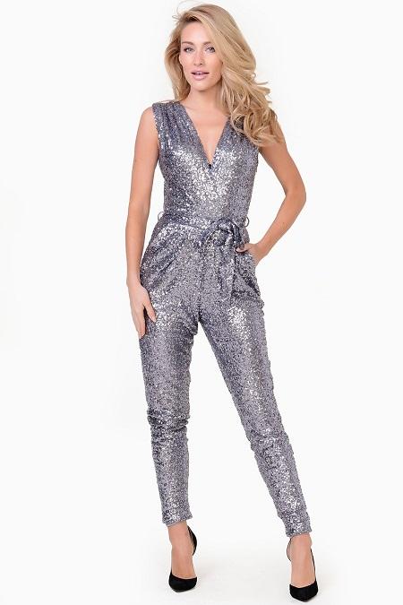 Sequin Jumpsuit Dressedupgirl Com