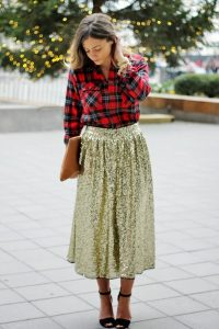 Swing Skirt Outfit
