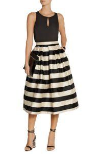 Tibi Silk Skirt