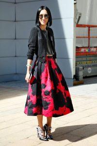 Tibi Striped Skirt Images