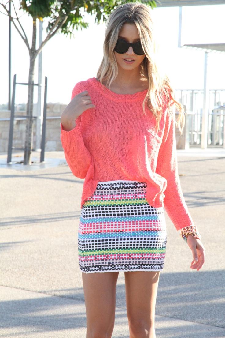 Tribal Print Skirt | Dressed Up Girl