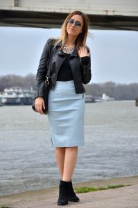 Tube Skirt Outfit