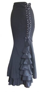 Victorian Fishtail Skirt