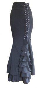 Victorian Fishtail Skirt