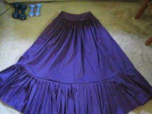 Victorian Skirt Pattern