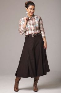 Western Skirts for Girls