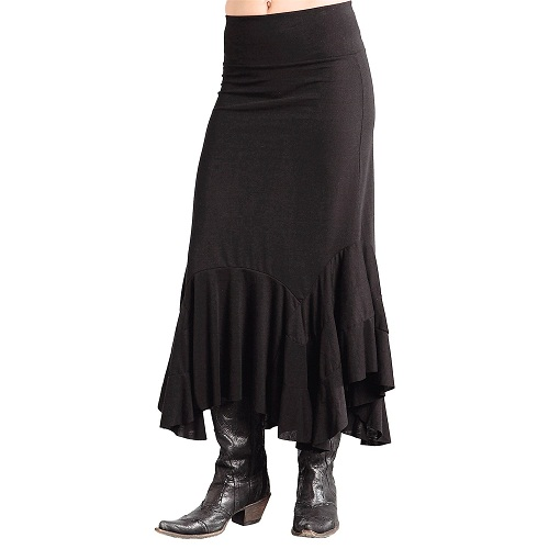 western skirts dressed up