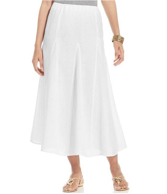 Linen Skirt | Dressed Up Girl