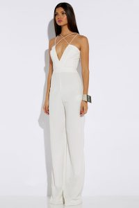 White One Piece Jumpsuit