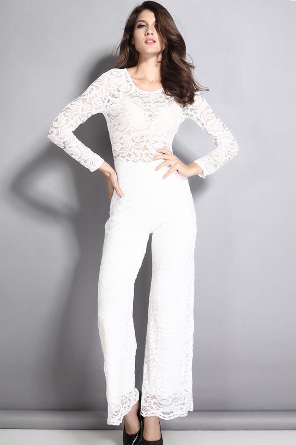 367c8a929 White Romper   DressedUpGirl.com